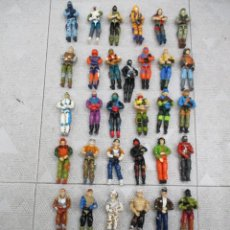 Figuras y Muñecos Gi Joe: LOTAZO GI JOE 37 FIGURAS CON COMPLEMENTOS + VEHICULOS + 3 FIGURAS DE REGALO - HASBRO. Lote 226454440