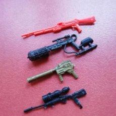 Figuras y Muñecos Gi Joe: GI JOE ACCESORIO LOTE ARMAS ANTIGUO VINTAGE - GIJOE COBRA HASBRO. Lote 227775755