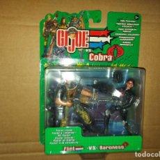 Figurines et Jouets Gi Joe: GIJOE VS COBRA - FLINT VS BARONESS. Lote 229714265