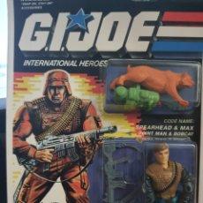 Figuras y Muñecos Gi Joe: SPEARHEAD & MAX GIJOE. NUEVA ORIGINAL. G.I. JOE. Lote 233050525