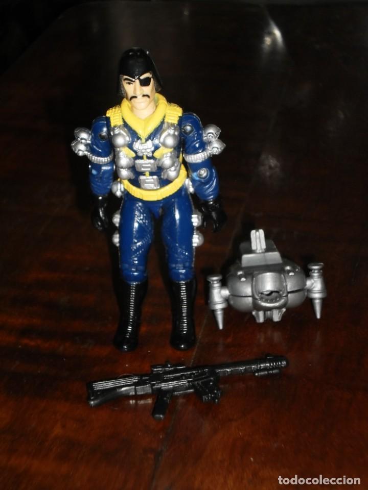 Figuras y Muñecos Gi Joe: Figura Gi Joe -Major Bludd / Piraña- 1991 Moc Spain Mip Gijoe G.i. Joe - Sky Patrol - Foto 2 - 235526230