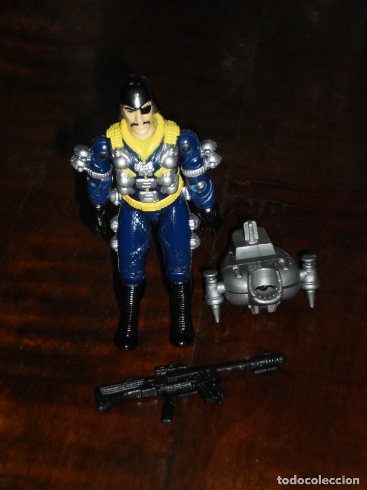 Figuras y Muñecos Gi Joe: Figura Gi Joe -Major Bludd / Piraña- 1991 Moc Spain Mip Gijoe G.i. Joe - Sky Patrol - Foto 7 - 235526230