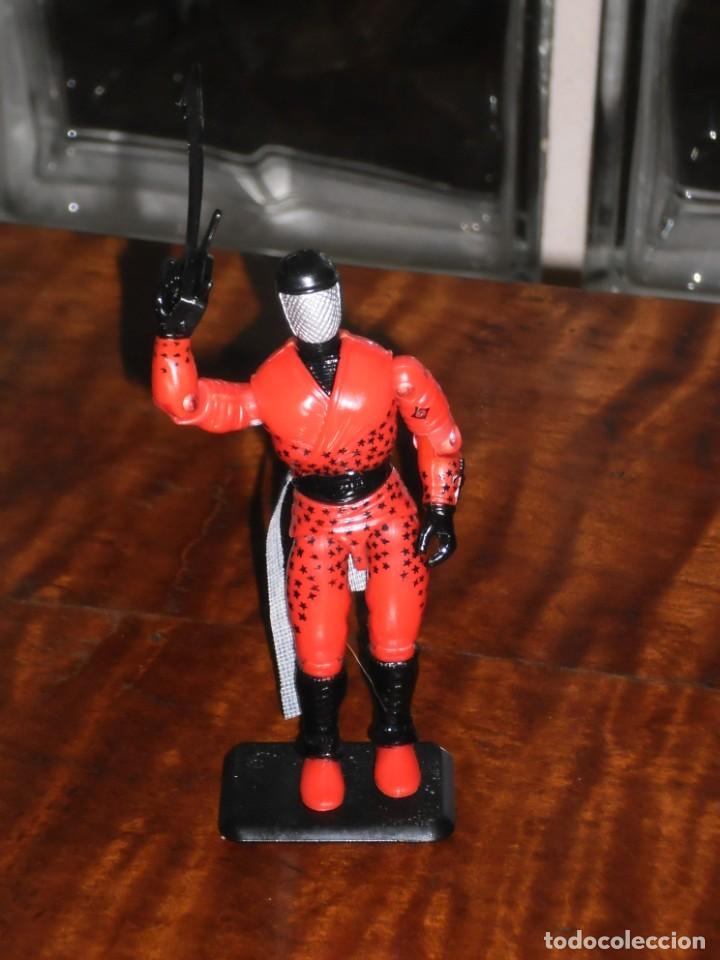 Figuras y Muñecos Gi Joe: Figura GiJoe -AFILADO / SLICE COBRA NINJA FORCE-1992. COMPLETO + BASE. GI JOE COMO NUEVO - Foto 2 - 235533090