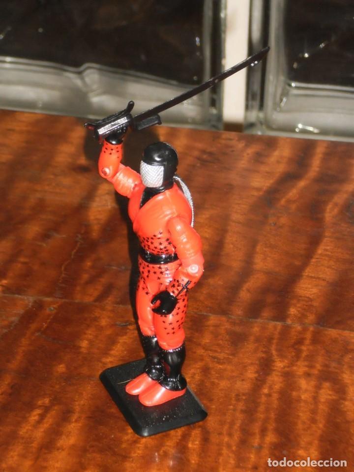 Figuras y Muñecos Gi Joe: Figura GiJoe -AFILADO / SLICE COBRA NINJA FORCE-1992. COMPLETO + BASE. GI JOE COMO NUEVO - Foto 5 - 235533090
