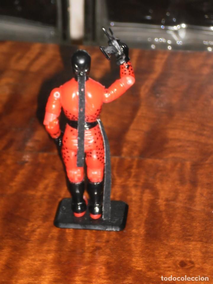 Figuras y Muñecos Gi Joe: Figura GiJoe -AFILADO / SLICE COBRA NINJA FORCE-1992. COMPLETO + BASE. GI JOE COMO NUEVO - Foto 6 - 235533090