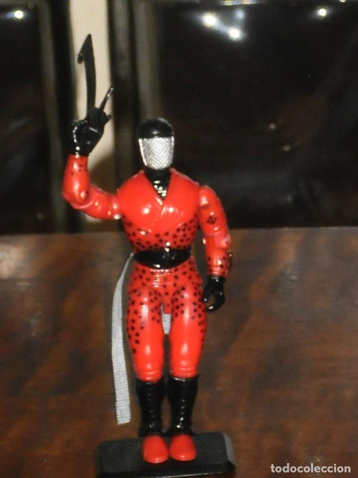 Figuras y Muñecos Gi Joe: Figura GiJoe -AFILADO / SLICE COBRA NINJA FORCE-1992. COMPLETO + BASE. GI JOE COMO NUEVO - Foto 8 - 235533090