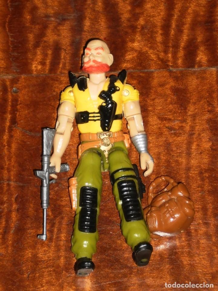 Figuras y Muñecos Gi Joe: GI JOE -SGT SLAUGTHER RENEGADES TAURUS- HASBRO 1987-Completo - Foto 7 - 235536620