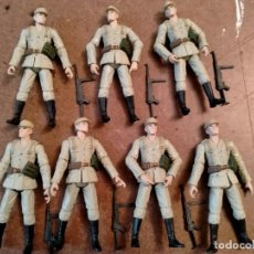 Figuras e Bonecos GI Joe: LOTE DE 7 AFRICA KORPS 1/18 INDIANA JONES/ GI JOE / ULTIMATE SOLDIER. Lote 236154495