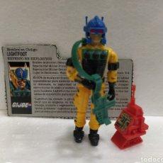 Figuras y Muñecos Gi Joe: GI JOE LIGHTFOOT (V1) DE 1987. COMPLETA CON FICHA EN CASTELLANO.. Lote 236775440