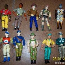 Figuras y Muñecos Gi Joe: LOTE DE 10 FUNSKOOL FRANKENSTEIN SIMIL GI JOE. Lote 236805495