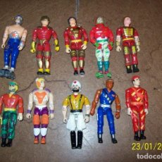 Figuras y Muñecos Gi Joe: LOTE DE 10 FUNSKOOL SIMIL GI JOE. Lote 236805880