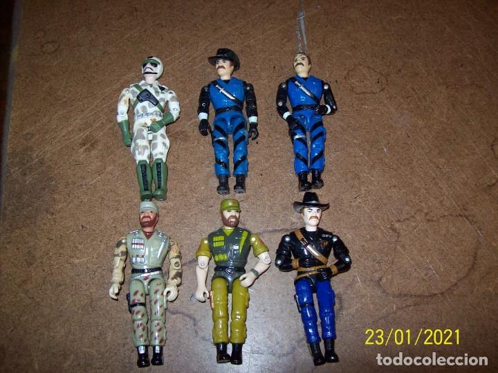 LOTE DE 6 FUNSKOOL FRANKENSTEIN SIMIL GI JOE (Juguetes - Figuras de Acción - GI Joe)