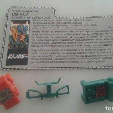Figuras y Muñecos Gi Joe: GIJOE LIGHTFOOT. Lote 238424785