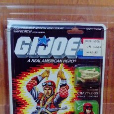 Figuras y Muñecos Gi Joe: BLISTER USA GI JOE CRAZYLEGS 1987, MOC NUEVO A ESTRENAR - GIJOE. Lote 239926920