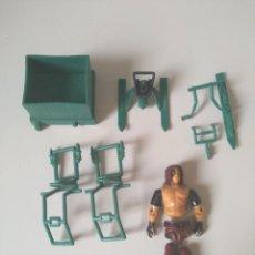 Figuras y Muñecos Gi Joe: GI JOE CHAMELEON / DRIVER/PILOT: ZARTAN (V1) 1984_COBRA_GIJOE_HASBRO. Lote 241954660