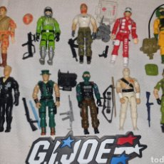 Figure e Bambolotti Gi Joe: 10 GIJOE,LADY JAYE ,BEACHHEAD (SURF),STORM SHADOW (SOMBRA), SCI FI (SGT. LASER) , OUTBACK (JUNGLA). Lote 243288405