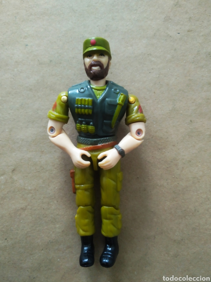FIGURA LANARD / G.I.JOE - GIJOE (MADE IN CHINA, 1986). (Juguetes - Figuras de Acción - GI Joe)
