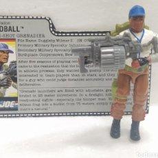 Figuras y Muñecos Gi Joe: GI JOE HARDBALL V.1 DE 1988 (BOLAS). COMPLETO CON FILECARD USA. Lote 246346505