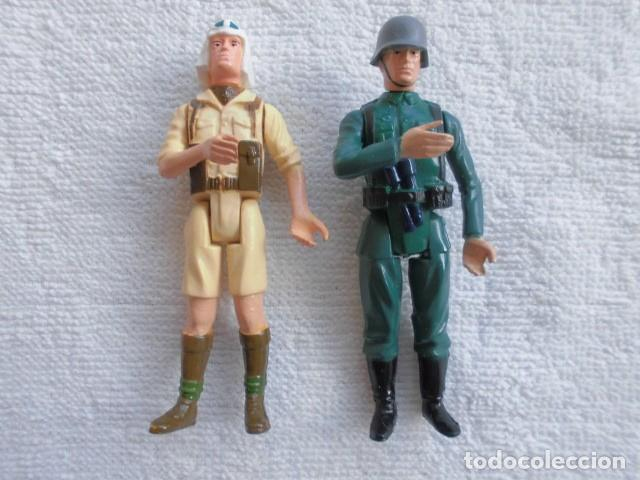 ACTION FORCE WWII BRITISH SAS DESERT RAT Y GERMAN STORMTROOPER, NO GI JOE (Juguetes - Figuras de Acción - GI Joe)