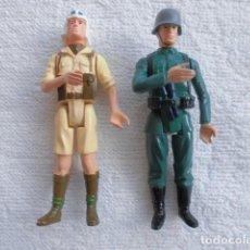 Figuras y Muñecos Gi Joe: ACTION FORCE WWII BRITISH SAS DESERT RAT Y GERMAN STORMTROOPER, NO GI JOE. Lote 247096590