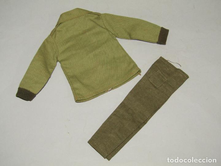 Figuras y Muñecos Gi Joe: Antigua Guerrera Militar con Cremallera y Pantalón de ACTION MAN de PALITOY - Foto 3 - 248733965