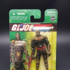 Figuras y Muñecos Gi Joe: GI JOE SAND VIPER VALOR VS VENOM. Lote 249469310
