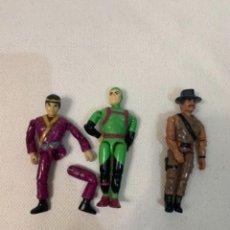 Figuras y Muñecos Gi Joe: TRES MUÑECOS GI JOE LANARD. UNO PARA REPARAR.. Lote 254811390