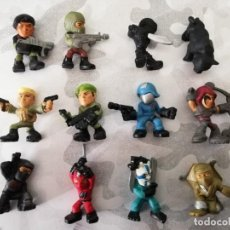 Figurines et Jouets Gi Joe: PACK 12 FIGURAS GIJOE SAGA MICRO FORCE SERIE 1. 2013. G.I. JOE GI JOE COBRA CUPRA HASBRO. Lote 255359105