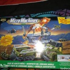 Figuras y Muñecos Gi Joe: 1999 MICRO MACHINES/G.I. JOE CONJUNTO DE JUEGO DE LA BASE DE ASALTO MÓVIL/HASBRO. Lote 235118020