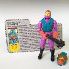 Figuras y Muñecos Gi Joe: GI JOE TOXO-VIPER (V1) 1988 HASBRO GIJOE COBRA. Lote 263748735