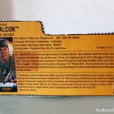 Figuras y Muñecos Gi Joe: GI JOE FALCON NIGHT FORCE (V2) 1988_FICHA_GIJOE COBRA HASBRO. Lote 263749405