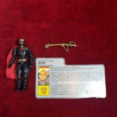 Figuras e Bonecos GI Joe: FIGURA G.I. JOE DESTRO GIJOE COMPLETO CON FICHA 1988. Lote 263752685