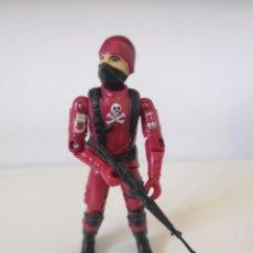 Figuras y Muñecos Gi Joe: GI JOE COBRA TROOPER BLACK MAJOR RED RARE GIJOE COBRA. Lote 263762915