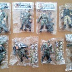 Figuras y Muñecos Gi Joe: LOTE 8 FIGURAS SOLDIER FORCE (CHAP MEI). ARTICULADOS Y CON COMPLEMENTOS. CHAPMEI.. Lote 264227072