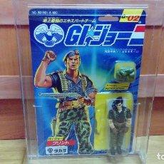 Figuras y Muñecos Gi Joe: BLISTER GI JOE FLINT 1986 JAPÓN MOC, NUEVO A ESTRENAR - WARRANT OFFICER TAKARA JAPAN GIJOE. Lote 265145214
