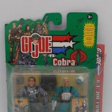 Figuras y Muñecos Gi Joe: FIGURA GI JOE VS COBRA SARGENTO HACKER INCLUYE UN LIBRO DE COMIC 2002. Lote 269815918