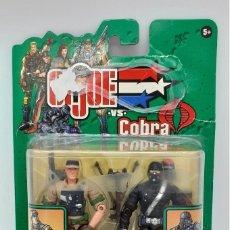 Figuras y Muñecos Gi Joe: FIGURA DE GIJOE VS COBRA AIR ASSAULT CON RECONDO 2002. Lote 269820848
