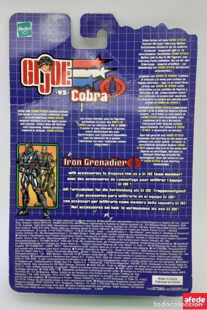 Figuras y Muñecos Gi Joe: FIGURA DE GIJOE VS COBRA AIR ASSAULT CON RECONDO 2002 - Foto 2 - 269820848