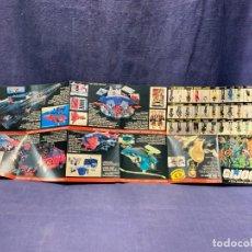 Figuras y Muñecos Gi Joe: CATALOGO DESPLEGABLE G.I.JOE A REAL AMERICAN HERO 1986 HASBRO USA 22X66CMS. Lote 271877618
