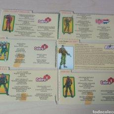 Figuras y Muñecos Gi Joe: LOTE DE 6 FICHAS GI JOE. Lote 276972878