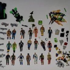 Figuras y Muñecos Gi Joe: MACRO LOTE GI JOE MUÑECOS NAVES ARMAS. Lote 280277283