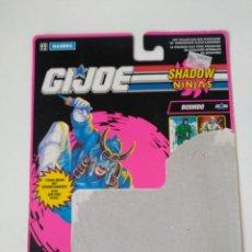 Figuras y Muñecos Gi Joe: GI JOE BUSHIDO FICHA (V1) 1993 SNOW NINJA COBRA HASBRO. Lote 286060398