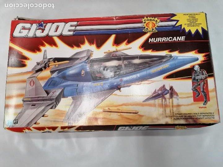 GI JOE - HURRICANE - HASBRO - 1991 - COMPLETO (Juguetes - Figuras de Acción - GI Joe)
