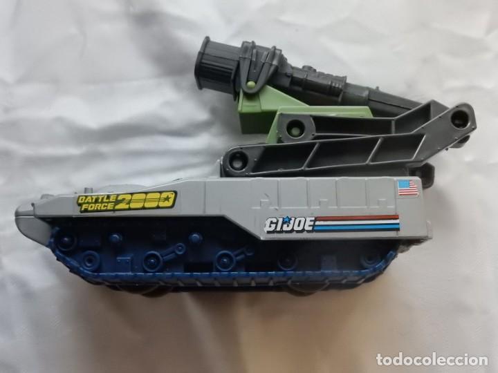 Figuras y Muñecos Gi Joe: Especie de vehículo / tanque. GIJOE. Battele Force 2000. Hasbro Inc. 1988. - Foto 8 - 27835962