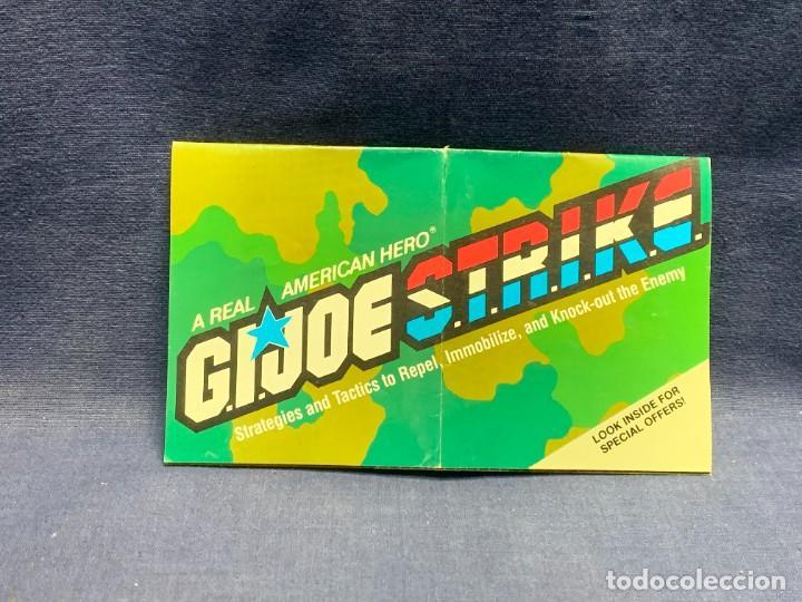 FOLLETO PROPAGANDA G.I.JOE S.T.R.I.K.E. 11X18,5CMS (Juguetes - Figuras de Acción - GI Joe)