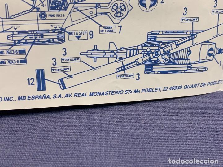 Figuras y Muñecos Gi Joe: INSTRUCCIONES F.A.N.G. FORTALEZA AEREA NEGATOR GIROCOPTERO G.I.JOE 1988 HASBRO 28X21CMS - Foto 10 - 288699843