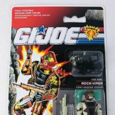 Figuras y Muñecos Gi Joe: GI JOE BLISTER ROCK VIPER 1991 COBRA MOUNTAIN TROOPER HASBRO 6725 MOC UK VERSION. Lote 294463608