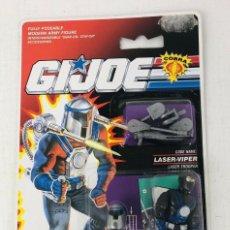 Figuras y Muñecos Gi Joe: GI JOE BLISTER 1991 LASER VIPER LASER TROOPER HASBRO 6730. Lote 294476298
