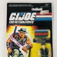 Figuras y Muñecos Gi Joe: GI JOE BLISTER 1989 MUSKRAT HASBRO 6516. Lote 294480723