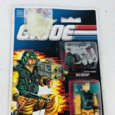 Figuras y Muñecos Gi Joe: GI JOE BLISTER 1990 SCOOP HASBRO 6526 MOC. Lote 294482178